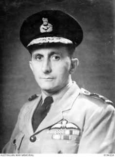 Portrait of Air Vice Marshal George Jones CB DFC, Chief of Air Staff, RAAF