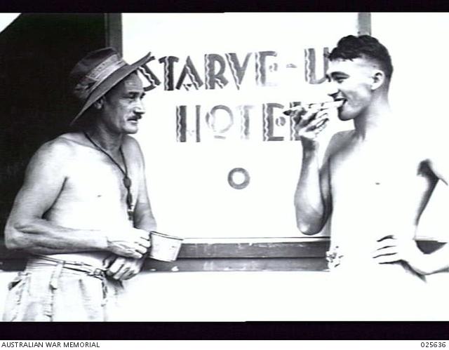 PORT MORESBY, PAPUA, 1942-07. AUSTRALIAN