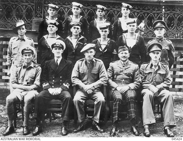 Group portrait taken after the completion of Operation Jaywick. 045424