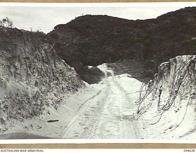 Garden Island Wa 1943 07 15 Road Construction Between Sulphur Bay