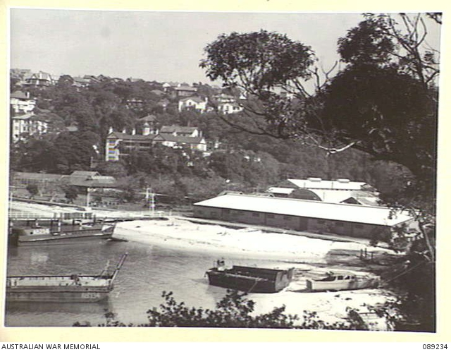 Photograph of Choder Bay and Clifton Gardens Hotel in the background 1949