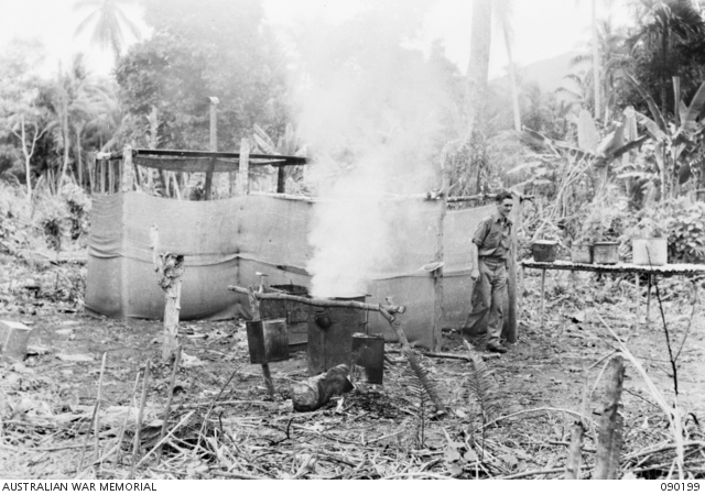 "Imitation kitchens with fires continuously burning were part of the deception codenamed ""Operation Hackney"" that was employed on Goodenough Island, New Guinea, in 1943"
