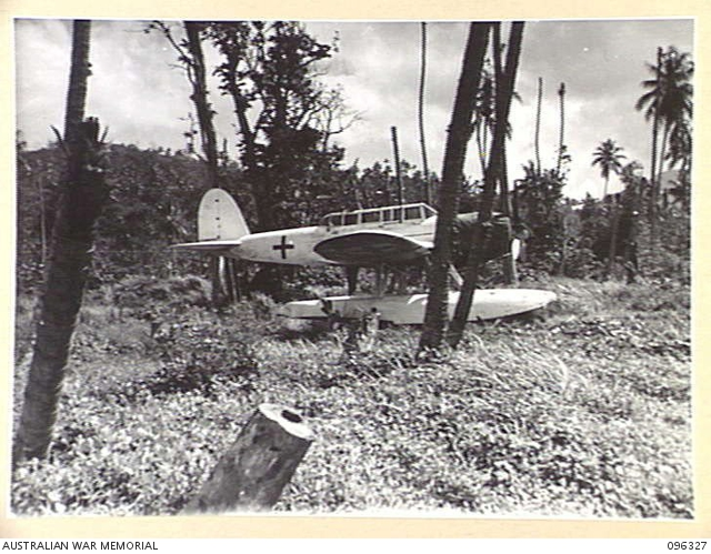 MALAGUNA MISSION, NEW BRITAIN  1945-09-10  A JAPANESE RED