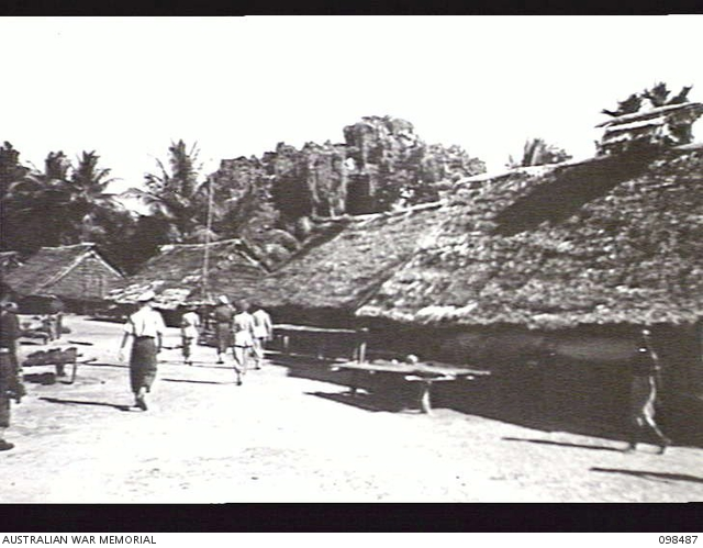 KOIL ISLAND, NEW GUINEA, 1945-10-31  A VISIT TO KOIL ISLAND