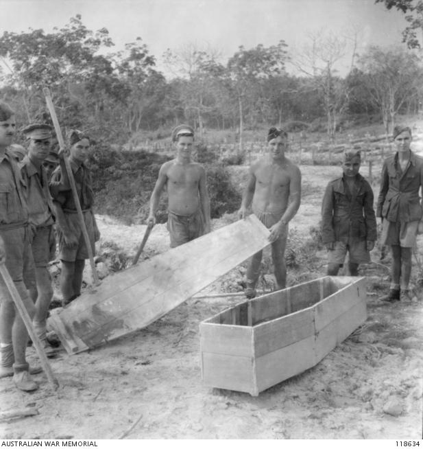 KUCHING, SARAWAK, BORNEO  1945-09-13  KUCHING FORCE  BRITISH