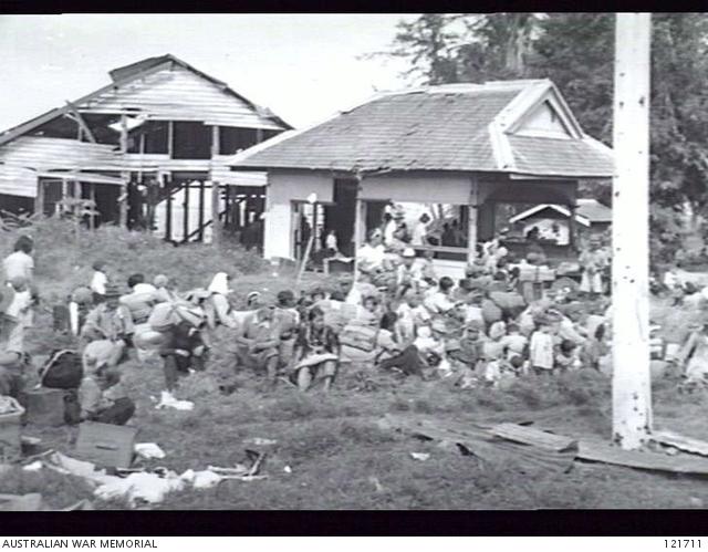 TAWAO, NORTH EAST BORNEO 1945-10-21  ON 1945-10-17 FOUR