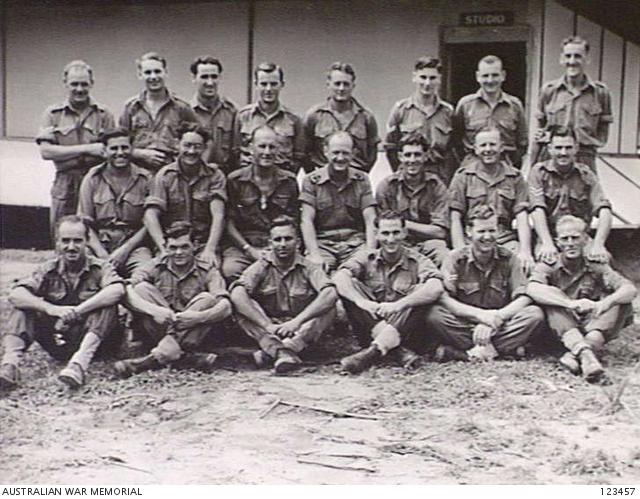 LABUAN ISLAND, NORTH WEST BORNEO 1945-11-08  9AF RADIO BROADCASTING