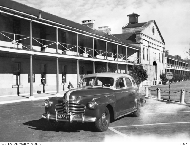 SYDNEY, NSW. 1946-07-01. 1941 BUICK CAR USED BY LIEUTENANT GENERAL ...