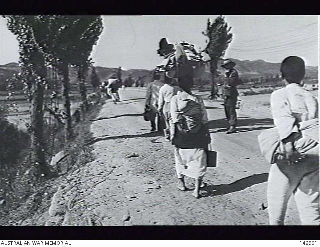 Taegu, Korea  1950-09-28  Private Clark, Regimental Police