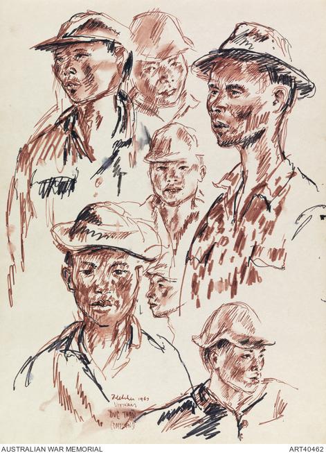 Army Memorial Drawing