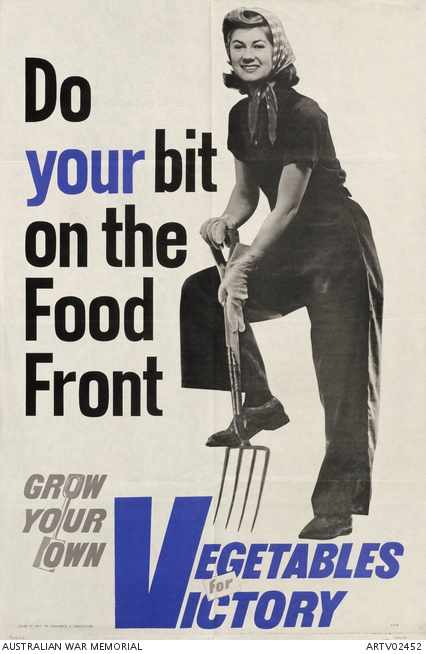 Do your bit on the Food Front