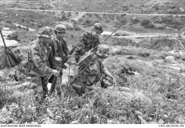 Quang Ngai Province South Vietnam 1968 01 Australian Army Adviser Warrant Officer Class 2 The Australian War Memorial