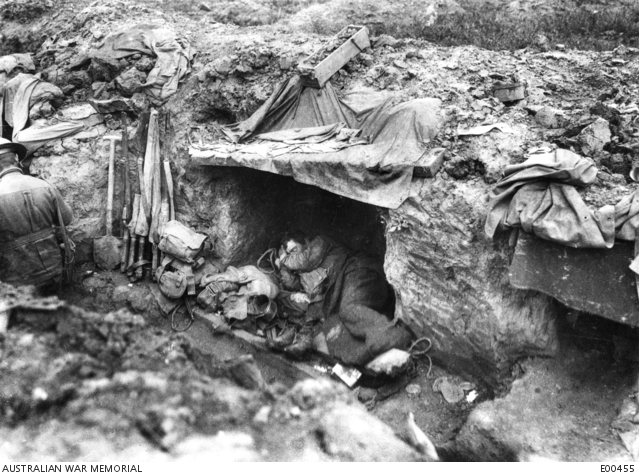 a description of the trenches of gallipoli as one of the worst places to be during ww2 There were periods in which rigid trench warfare broke down, such as during the  battlefield at gallipoli, the opposing trenches were  one blew during a .