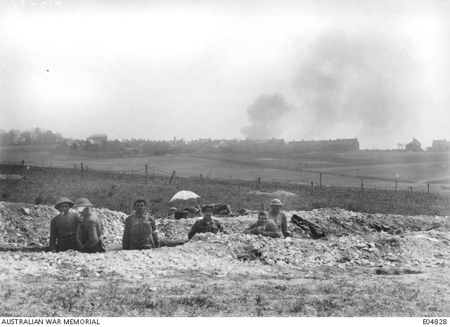 near villers bretonneux france 2 may 1918 australians. Black Bedroom Furniture Sets. Home Design Ideas