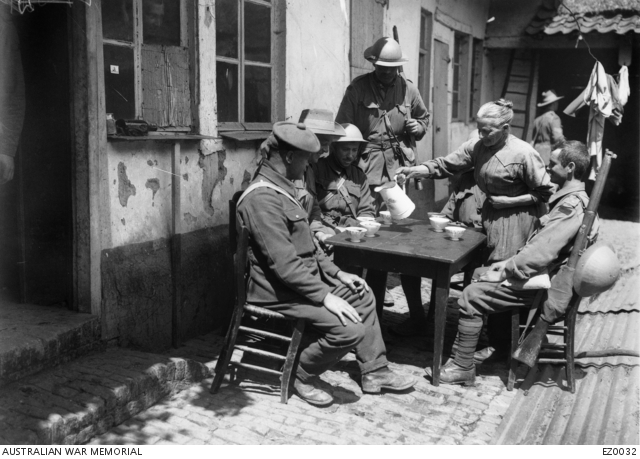 Life in the trenches | The Australian War Memorial