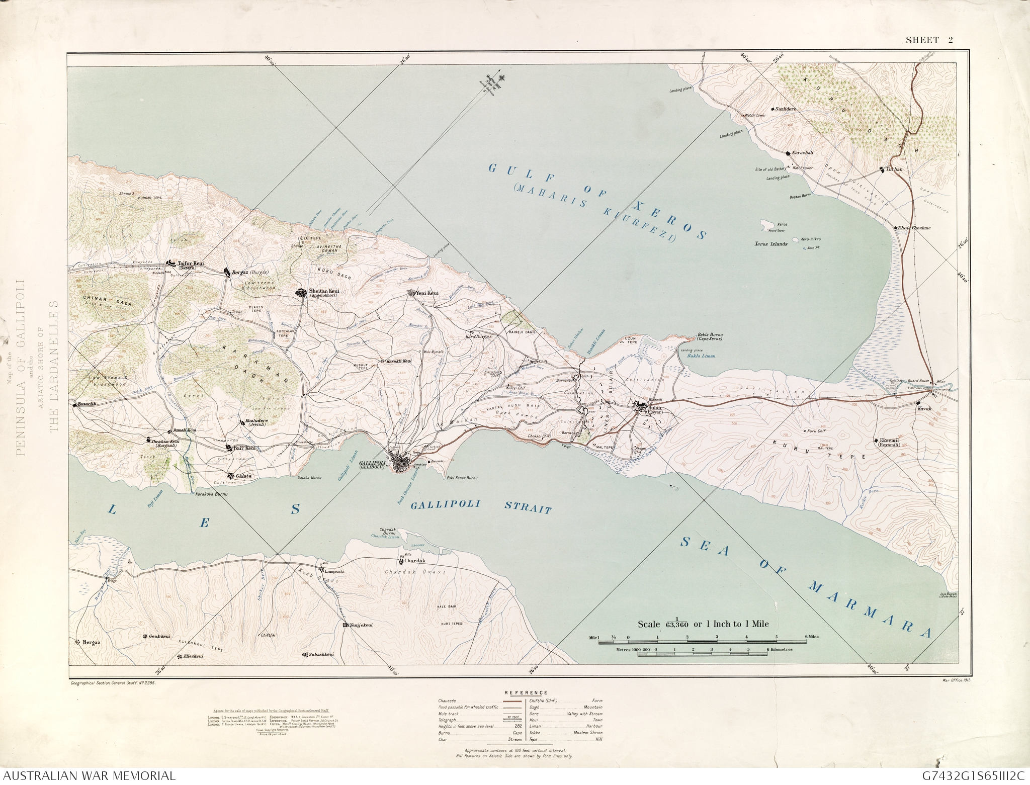 Map of peninsula of gallipoli the australian war memorial map of peninsula of gallipoli gumiabroncs Image collections