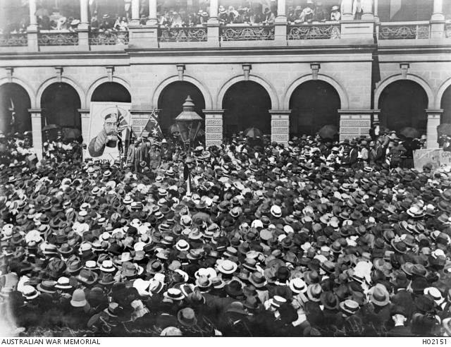 Conscription during the First World War, 1914–1918 | The Australian