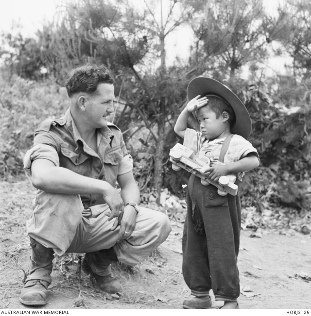 3 June 1952 One Of The Innocent Victims Korean War Chan An Orphan Salutes