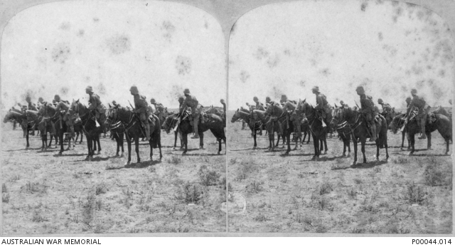 The War, with the South African Light Horse at De Aar