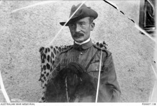 MAFEKING, SOUTH AFRICA, C. 1900. PORTRAIT OF COLONEL R. BADEN-POWELL. (DONOR C. BOOTH)