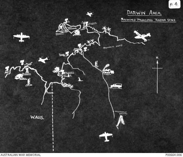 Map Of Australia Radar.Hand Drawn Map Of Coastline Of Northern And Western Australia