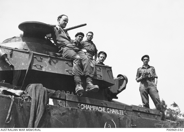 KOREA 1952 09 A MK 5 CENTURION TANK CHAMPAGNE CHARLIE OF SQUADRON 5TH ROYAL