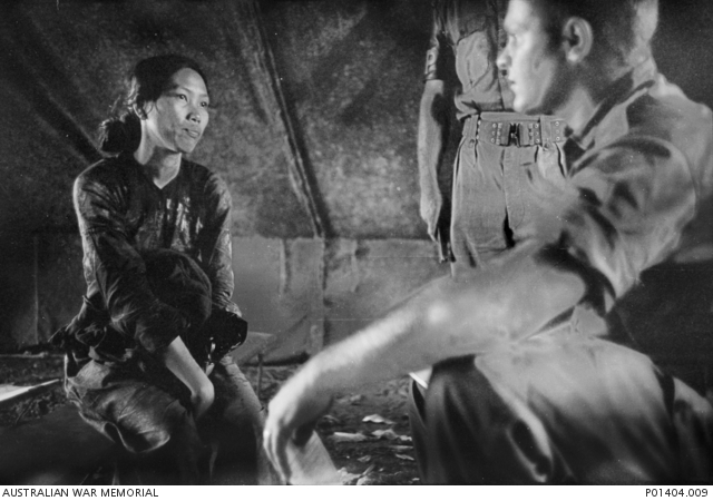 To Thi Nau, a 23 year old Viet Cong woman prisoner