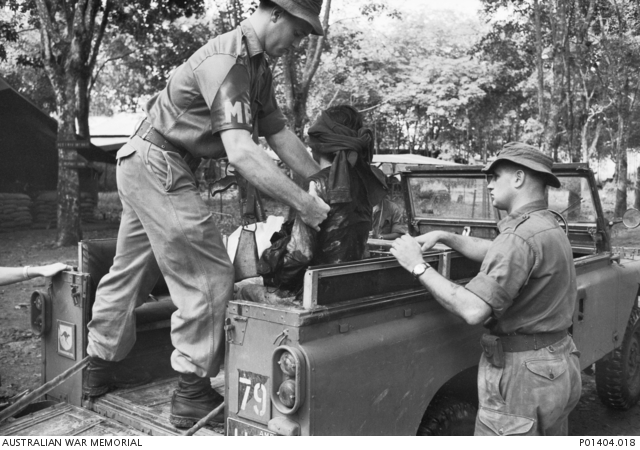 Viet Cong suspect undergoes interrogation by South