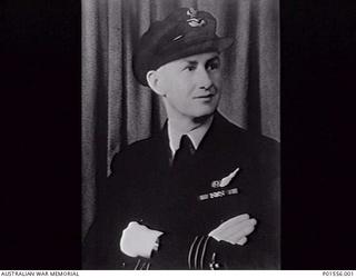 STUDIO PORTRAIT OF 404765 SQUADRON LEADER ARTHUR STANLEY GRANT DSO DFC AND BAR (1913-1991). HE WAS A NAVIGATOR WITH NO. 455 SQUADRON RAAF (HAMPDEN), NO. 420 SQUADRON RCAF (HAMPDEN), NO. 50 SQUADRON ..