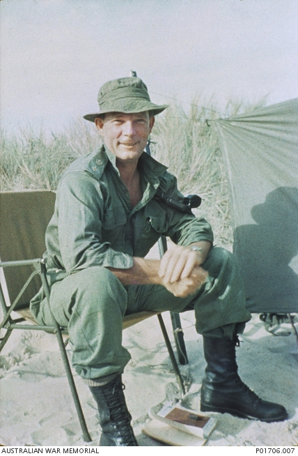 Lieutenant Colonel Eric Smith, commanding officer 7RAR.