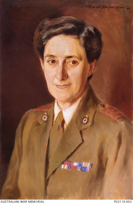 Portait of Mrs Thomas Walter White OBE (nee Vera Deakin), C296048