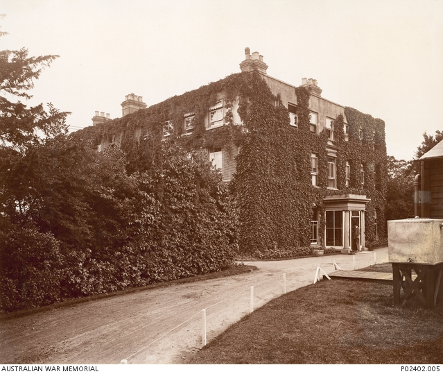Harefield, England. c.1915. Exterior of