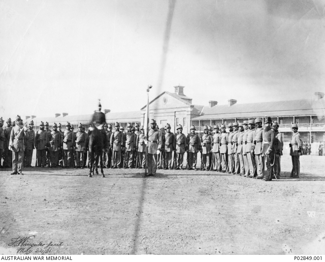 Thomas Wingate, 1st Regiment New South Wales Rifle Volunteers, Victoria Barracks, 1861