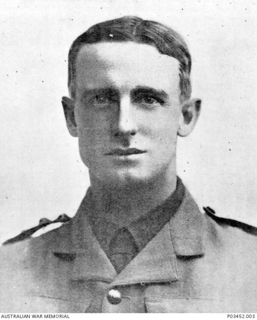 Studio portrait of Captain (Capt) Thomas Cotgrave Hewitt, 26th Battalion, AIF, of Toowoomba, Qld. Capt Hewitt enlisted on 17 April 1915 in Toowoomba, Qld, and embarked aboard HMAT Ascanius from ..