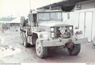 An M543, 5 ton wrecker of 106 Field Workshops, Royal Australian