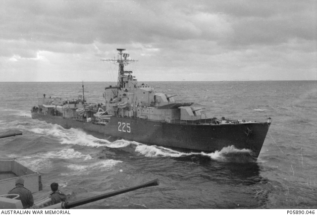 Royal Canadian Navy V class destroyer HMCS Sioux