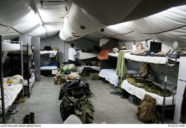 Interior of the tent accommodation on ali al salem air base order a copy sciox Images