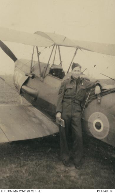 Portrait of 426027 Flight Sergeant Kevin Joffre Bingham, 104