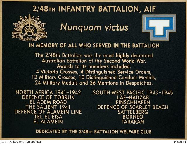 2/48th Australian Infantry Battalion, AIF | The Australian