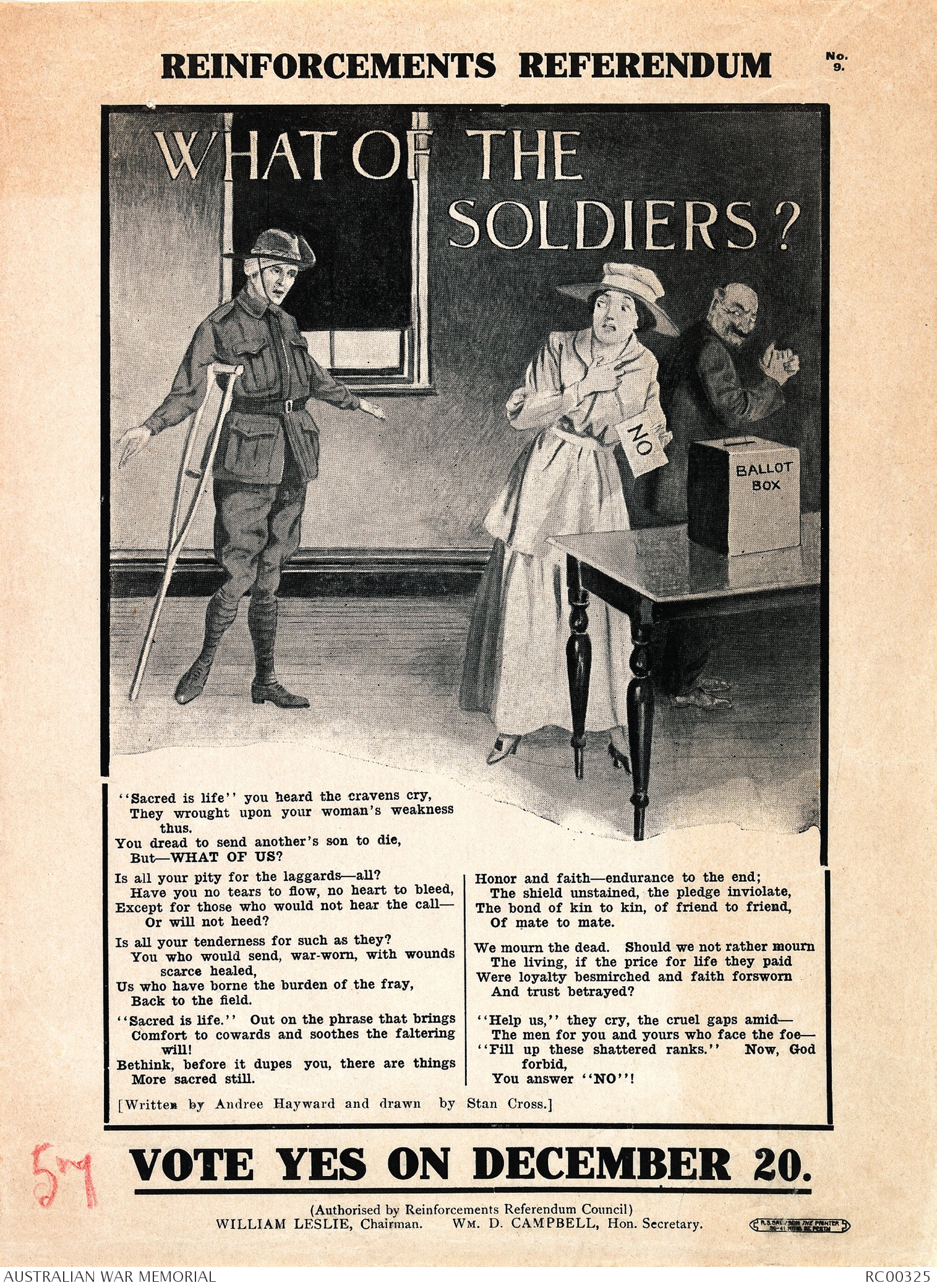 u0026quot reinforcements referendum  what of the soldiers  vote yes
