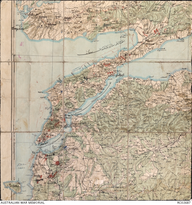 Mapping gallipoli the australian war memorial gallipoli map gumiabroncs Image collections