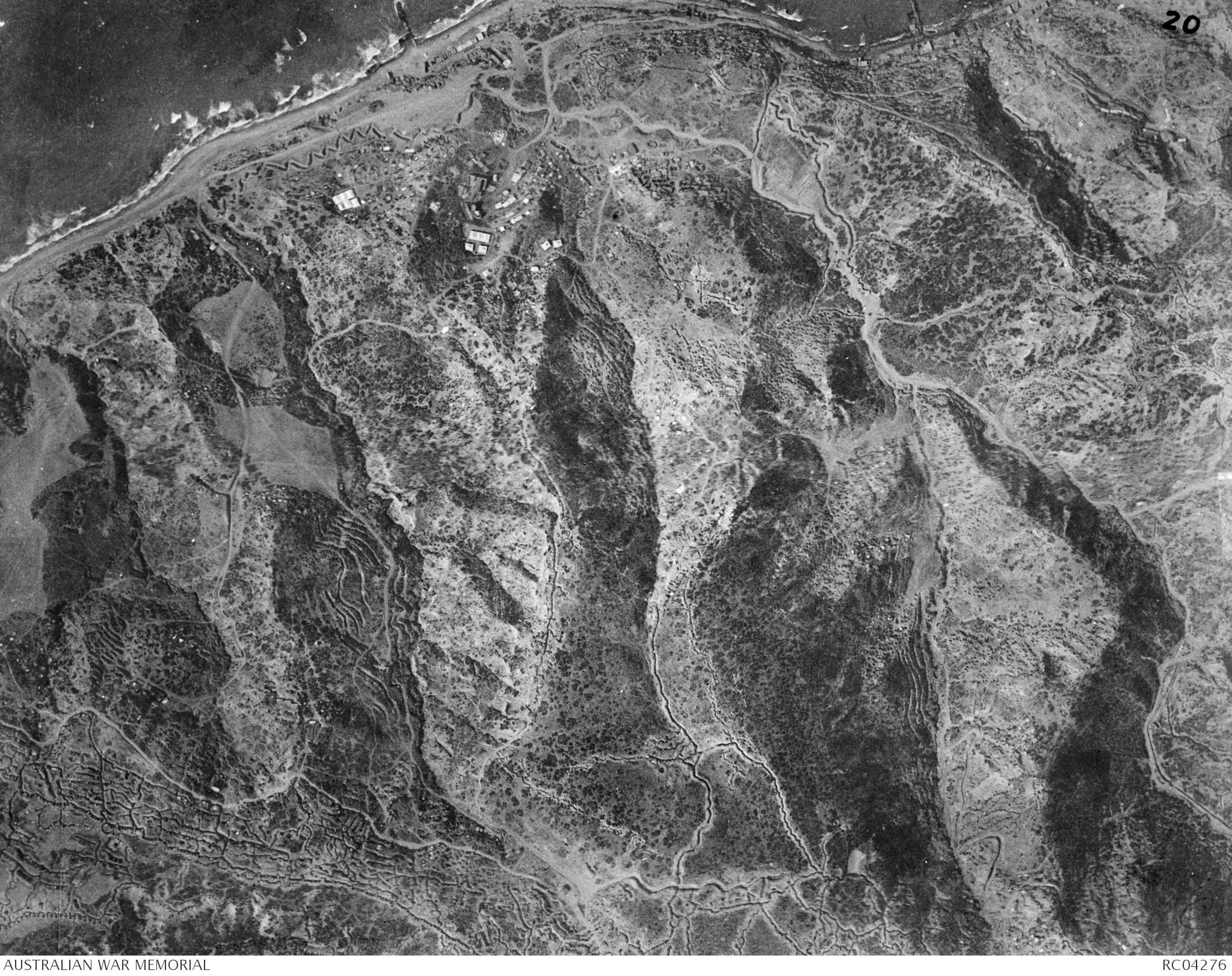 1 20 000 Map Grid Refererence Gallipoli 80 V W The