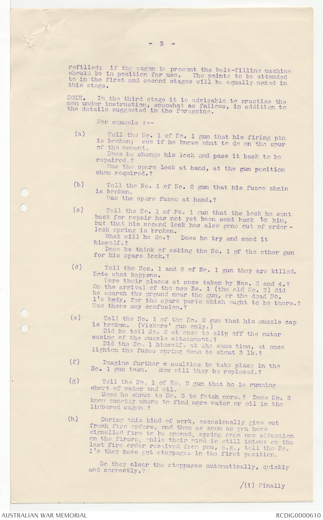 Personal Files Book 12, 1 March - 29 April 1916 | The