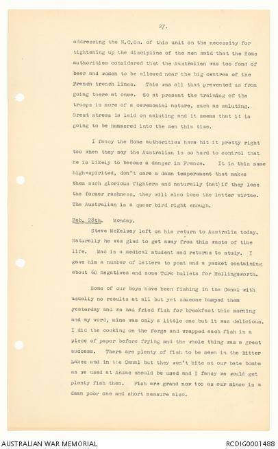 Transcript] Diaries of Thomas James Richards, Vol  3   The
