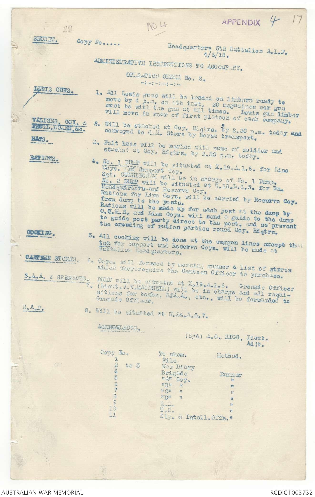 AWM4 23/22/40 - June 1918   The Australian War Memorial