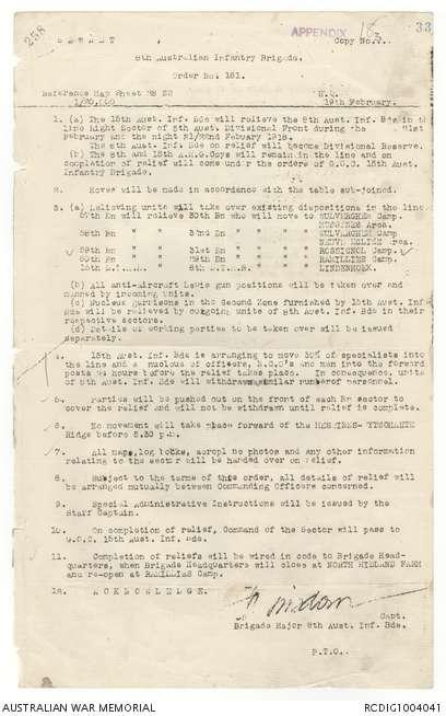 AWM4 23/48/31 - February 1918 | The Australian War Memorial