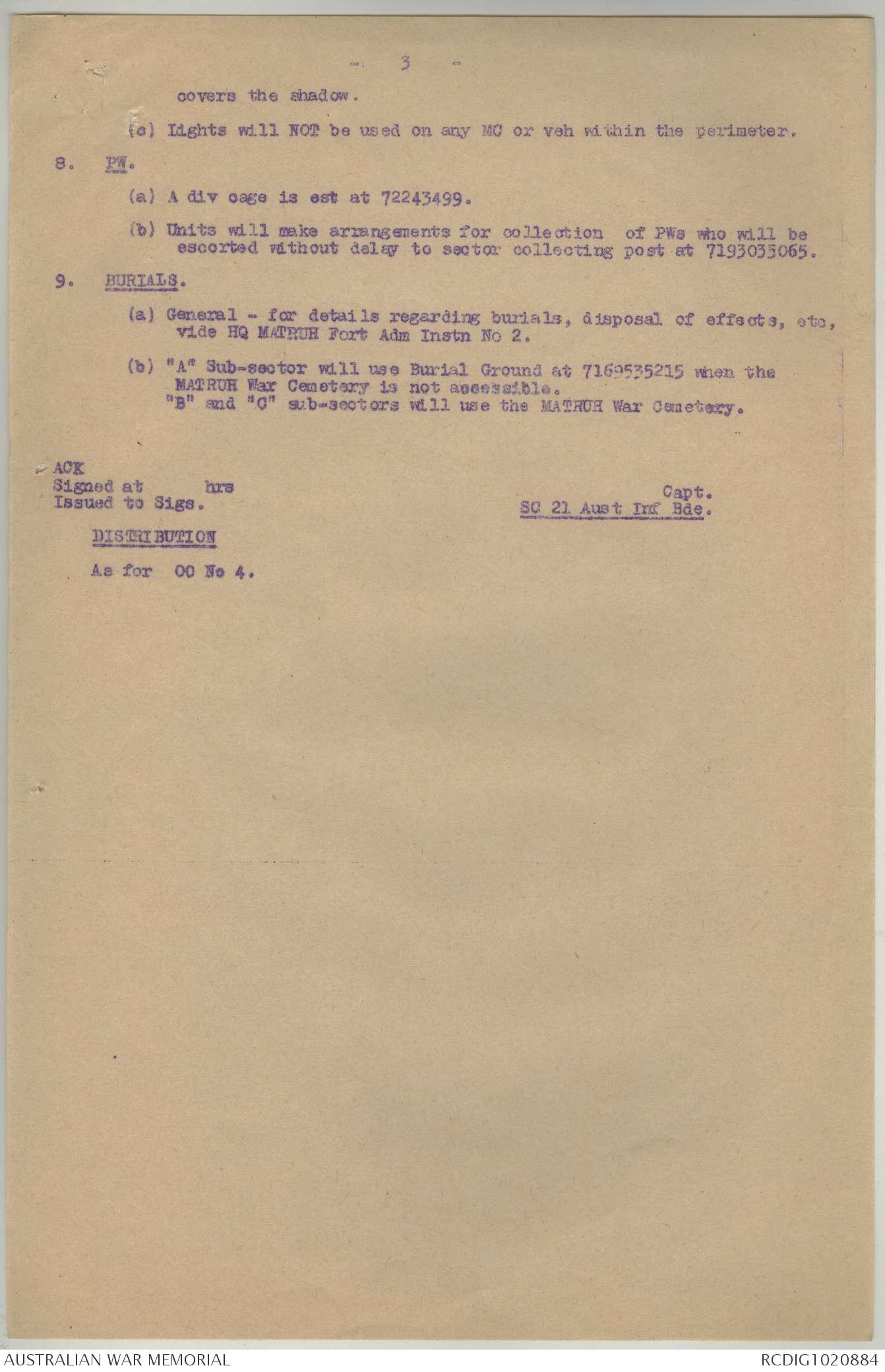 AWM52 8/2/21/8 - May 1941 | The Australian War Memorial