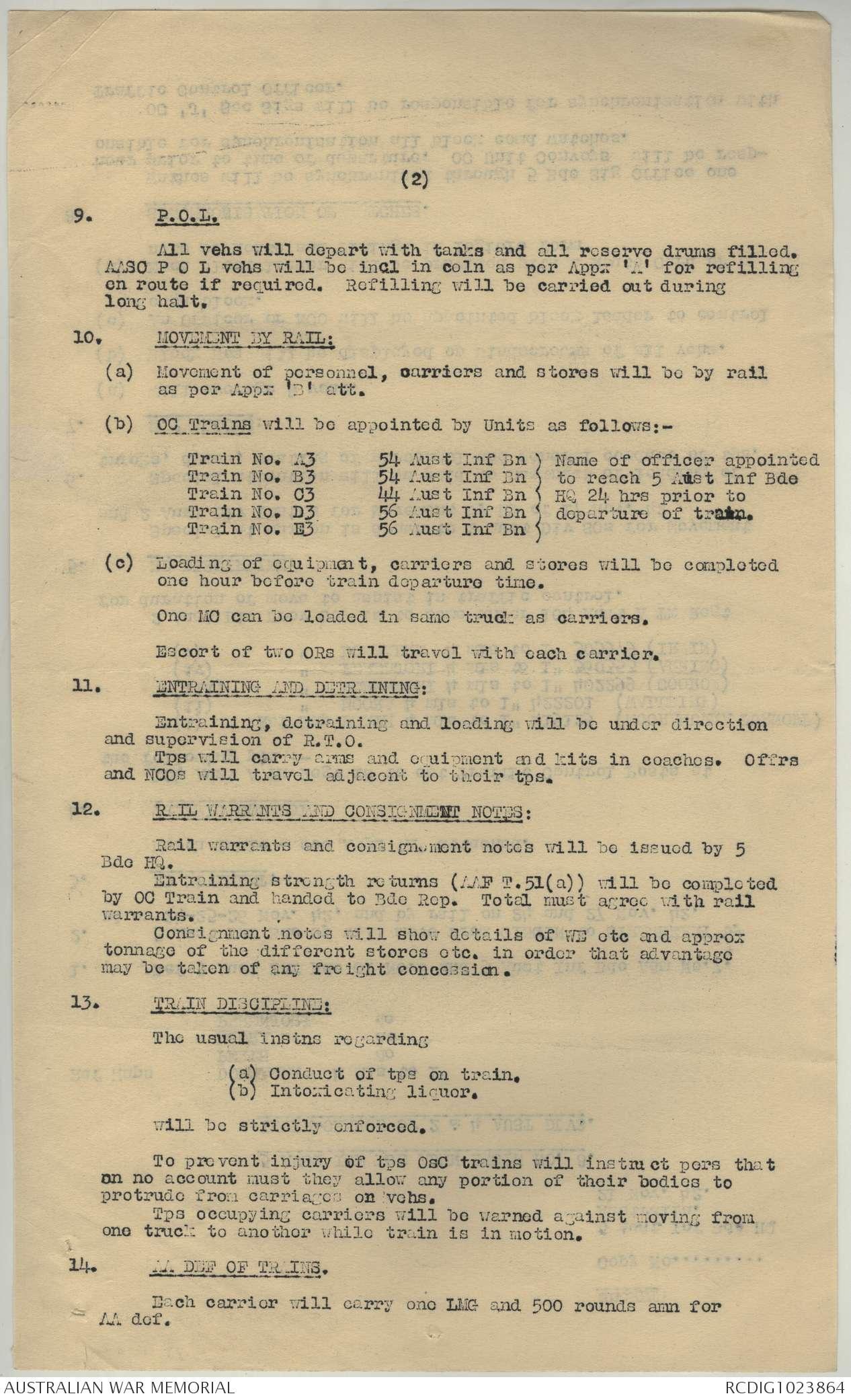 AWM52 8/3/92/5 - November - December 1942 | The Australian