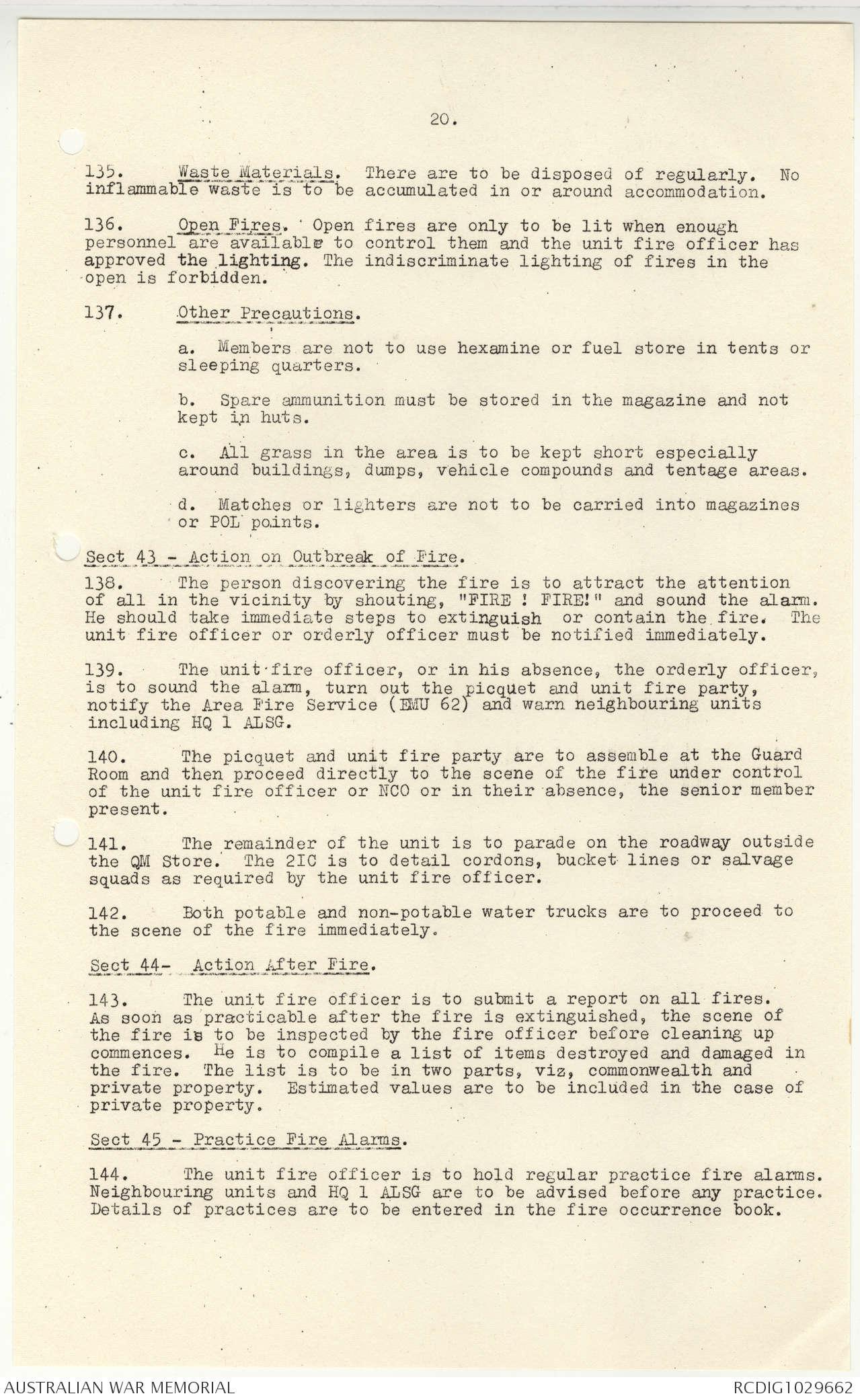 AWM95 4/4/36 - 1-31 August 1968, Annexes K-O | The Australian War