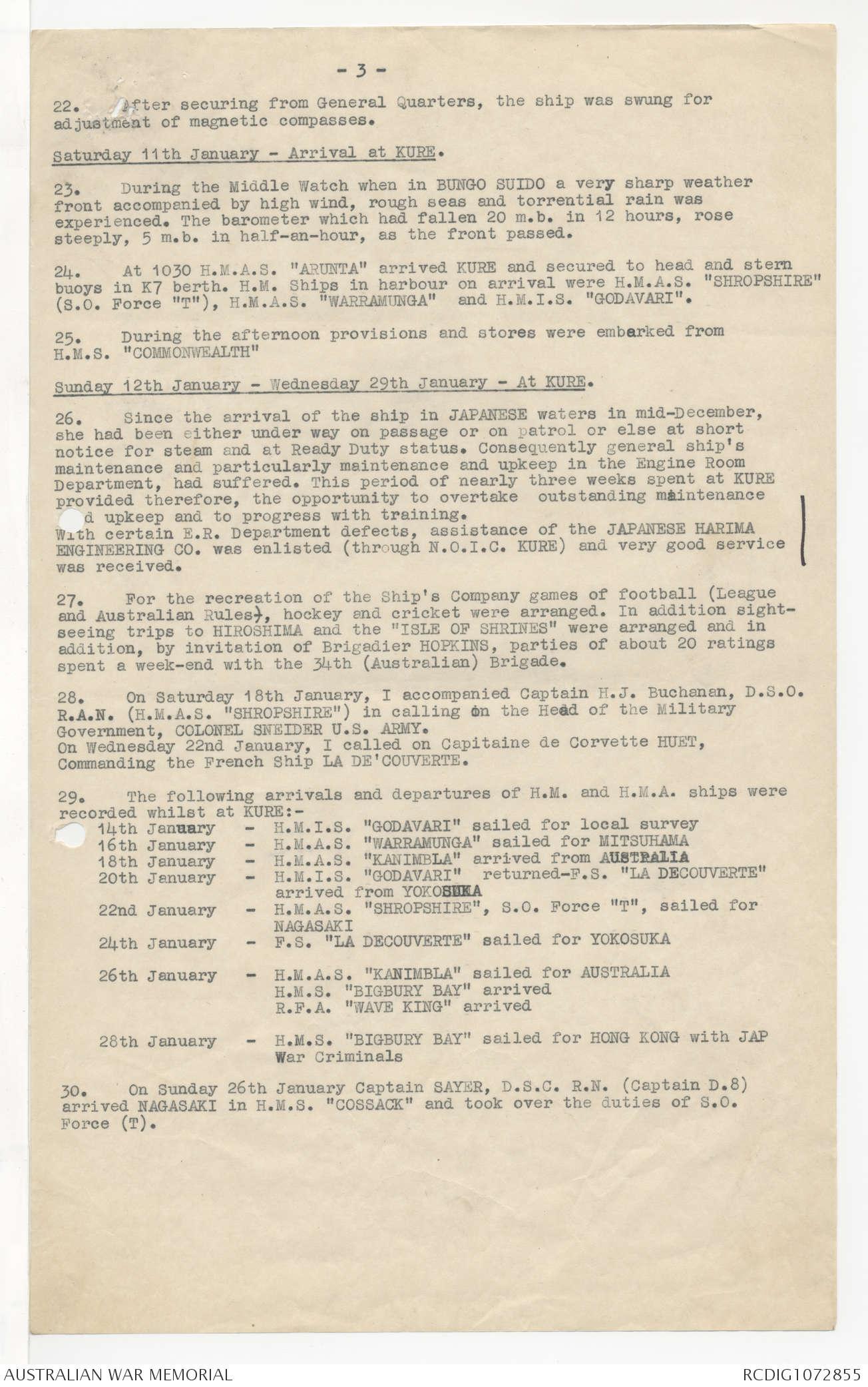 AWM78 40/1 PART 2 - April 1942 - June 1947 | The Australian